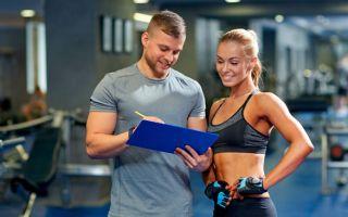 Дневник тренировок в тренажерном зале: образец