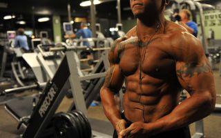 Схема тренировок в тренажерном зале для мужчин