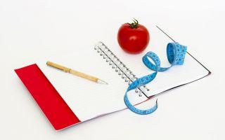Программа питания и тренировок на сушку для девушек