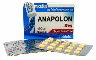 Анаполон (Оксиметолон): мощнейший из оральных стероидов
