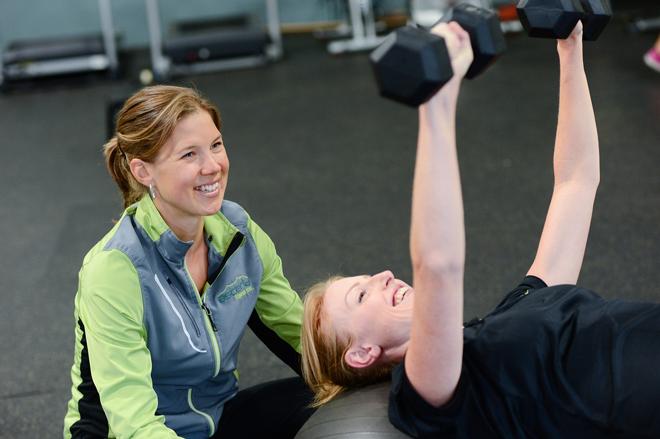 Персональные тренировки для похудения