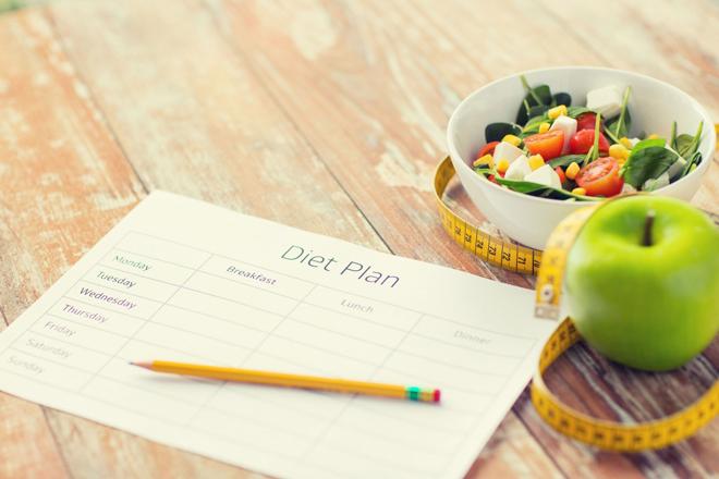 Составление плана тренировок и питания