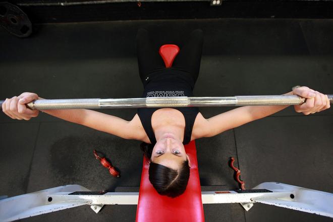 Основные упражнения на грудные мышцы