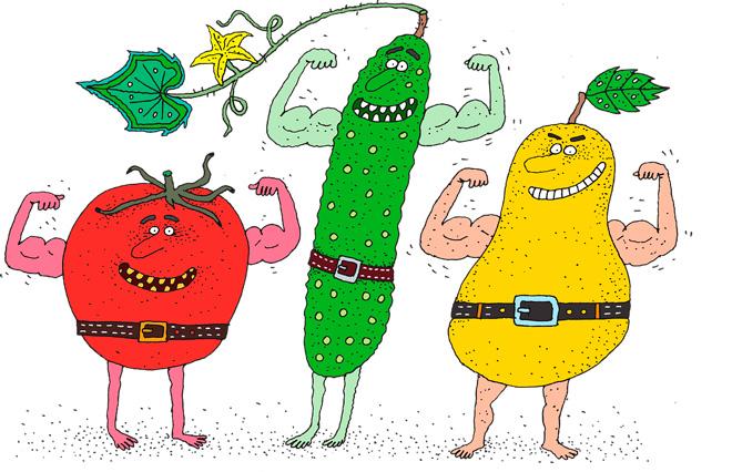 Питание в бодибилдинге для похудения