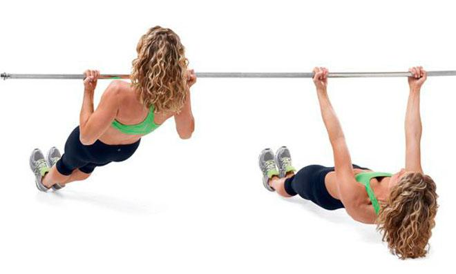 Упражнения на бицепс: отжимания