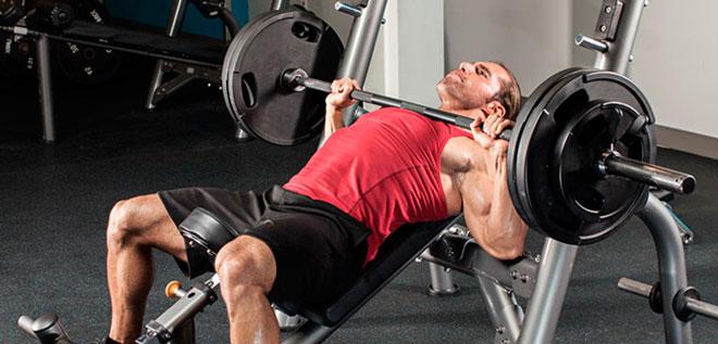 Упражнения на верхнюю часть грудных мышц