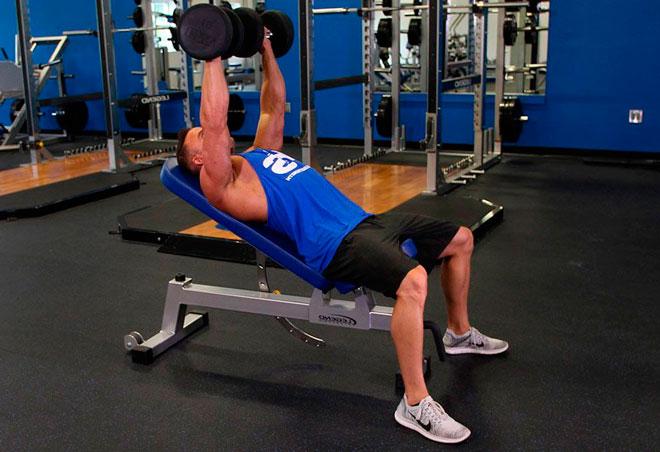 Упражнения на верхнюю часть грудных
