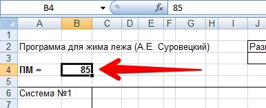 Пояснения к программе Суровецкого